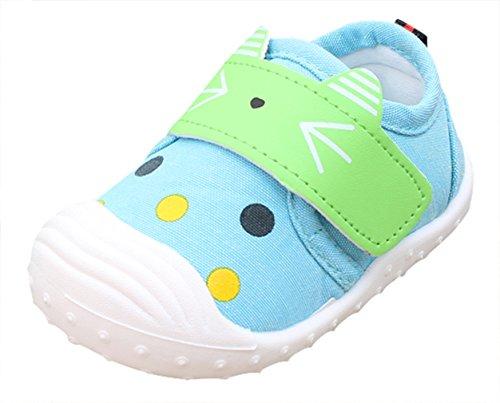 La Vogue Bebes Unisex Zapatos de Deportivo Primavera Talla 19/longitud de zapatos 13cm Rojo Blanco Azul 6g67g