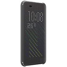 Funda Desire 820, Ordica ES®, Carcasa HTC Desire 820 Con Tapa a libro [Dot View Compatible] Case Slim Resistente Case Accesorios Anti Golpes, Color Oro -
