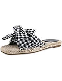 LIXIONG Tragbar Sommer weibliche Hausschuhe 1 Wort ziehen Sandalen Mode flache Schuhe Frauen außerhalb der Schuhe Modeschuhe ( Farbe : Gelb , größe : EU38/UK5.5/CN38 )