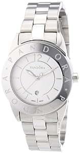 Pandora - 811009WH - Montre Femme - Quartz Analogique - Bracelet Acier Inoxydable Argent