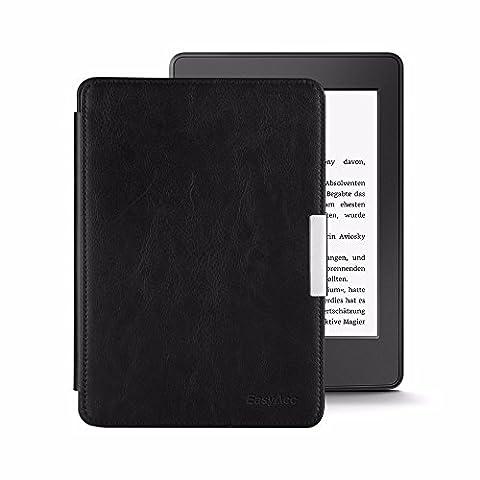 EasyAcc Kindle Paperwhit Cover etui case housse en cuir Pour