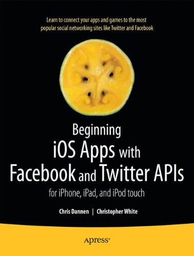 Preisvergleich Produktbild Beginning Ios Apps with Facebook and Twitter Apis: For iPhone,  iPad,  and iPod touch