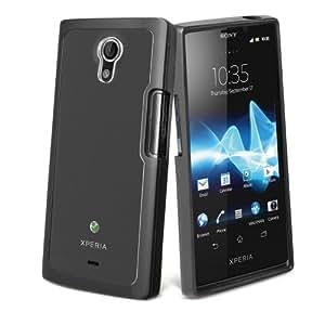 Muvit SEBMC0014 Coque pour Sony Xperia T Noir