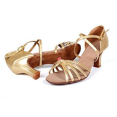 CH&TOU Scarpe Donna-Sandali-Matrimonio / Tempo libero / Ufficio e lavoro / Formale / Casual / Serata e festa / Scarpe comode-Tacchi-A stiletto- golden