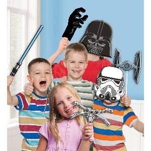 amscan 9903094 Star Wars Fotorequisiten-Set, - Kind Rock Star Girl Kostüm