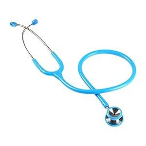 Stetoscopio duofono Classic GIMA pediatrico, lira azzurra