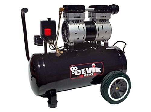 Cevik 0 Cevik-Ca-pro40silent-compresor 230v-2hp-40 lt-8 bar-196lt./ min