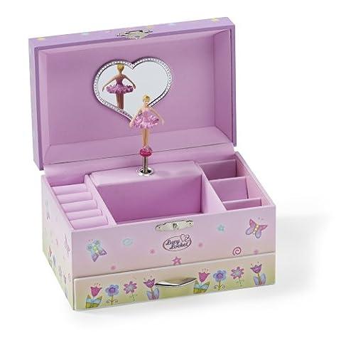 Fee Schmuckkästchen - Rosa Spieluhr für Kinder