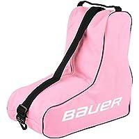 Bauer - Bolsa de almacenaje para patines(para tallas de 1 a 5), color rosa