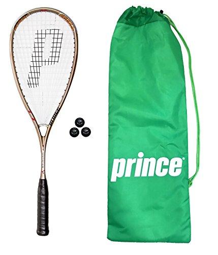 Prince TT Soberano raqueta de Squash + 3Pelotas de squash Dunlop Pro...