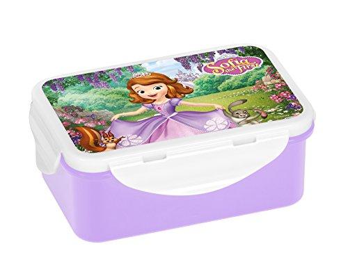 Disney Prinzessin Sofia die Erste 13598 Brotdose, Plastik, Mehrfarbig, 16,3 x 10,5 x 6,5 cm