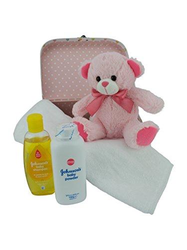 Bebé caja y Set de regalo rosa rosa Talla:pequeño