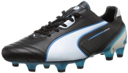 Puma Re Sl Firm Ground Soccer Bitta Black/White/Fluorescent Blue
