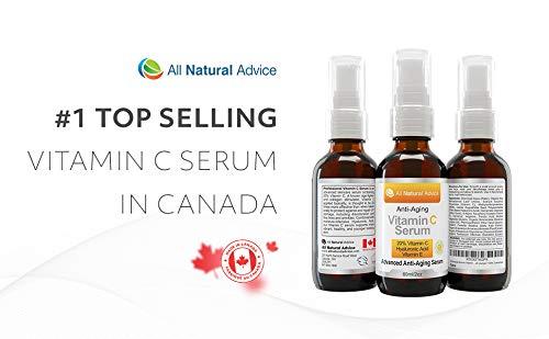 20% Vitamin C Serum • Organic • 60ml • Vitamin E Hyaluronic