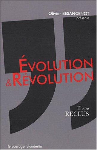 Evolution et révolution par Elisée Reclus