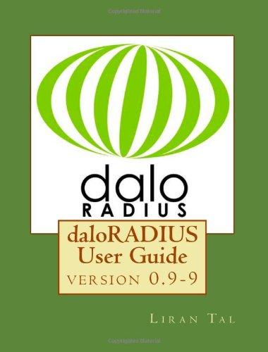 daloRADIUS User Guide: Volume 1