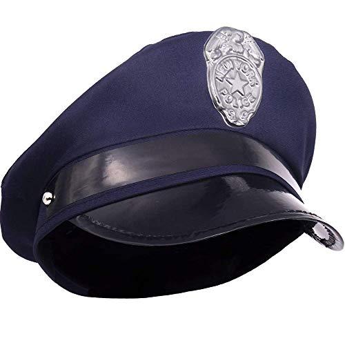 Cops Und Gangster Kostüm Mädchen - German Trendseller® - 6 x Polizeimütze