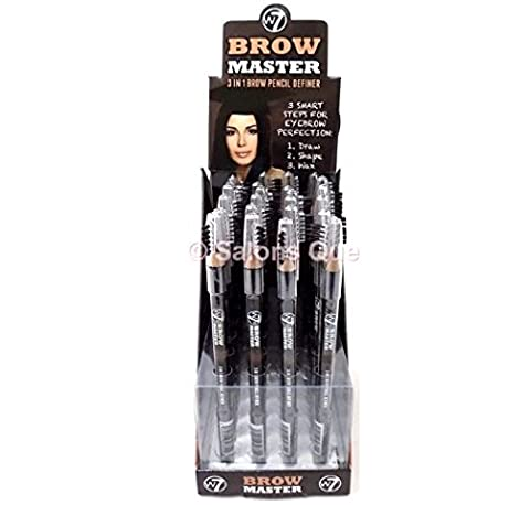 W7 Brow Master 3 In 1 Brow Pencil Definer - Blonde