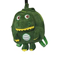 MVD TITO The Alligator Toddler Back Pack ,Green, Cute, Soft ,Plush ,AMIMAL Collection .