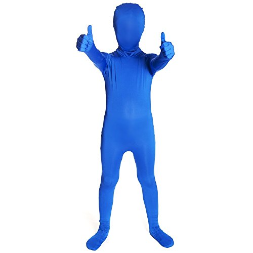 Blau Original Kinder Morphsuit Kinder - size Large 4'1-4'6 (123cm-137cm)