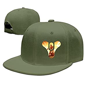 Yhsuk Game Destiny The Taken King Unisex Fashion Cool Adjustable Snapback Baseball Cap Hat One Size ForestGreen