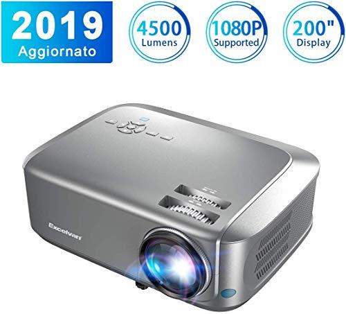 Videoproiettore alta Risoluzione LCD Full HD 200''