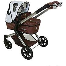 DeCuevas Toys - Coche y silla para muñecas 3x1 + manoplas (80510)