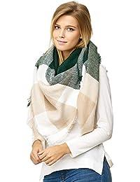 ca87717b84d71b JillyMode XXL Damen Schal Winter Dick Warm und weich viele schöne Mustern