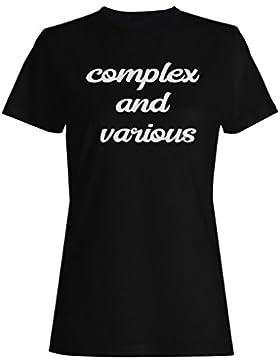 Complejo Y Variado camiseta de las mujeres k448f