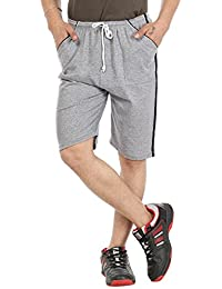 Gumber Gray Solid Shorts (GE_VT_NKR_LG_1PC)