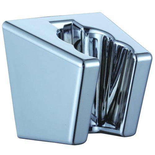 KES Badezimmer ABS Handheld Duschkopf Halterung Brausehalter Wandhalterung, Poliert Chrome, KES-C102 (Handheld-duschkopf Antik)
