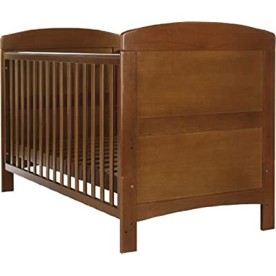 Obaby Grace Cot Bed - Walnut  Sugar-Bai