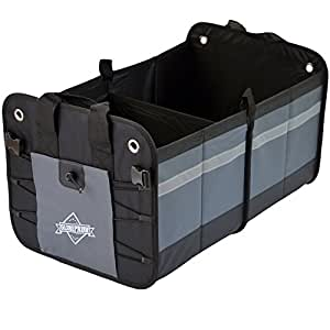 Sacoche de coffre organiseur pliable pour voiture grande capacit de 50 litres - Coffre de jardin grande capacite ...
