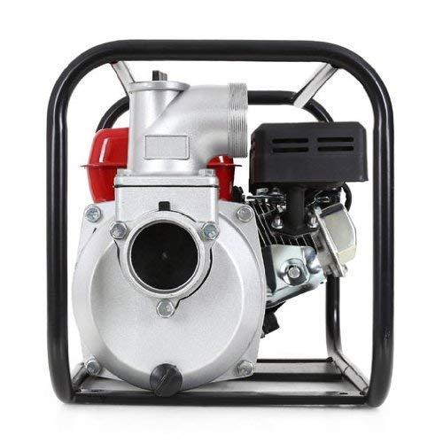 EBERTH 6,5 PS 3 Zoll Wasserpumpe Benzin Motor Pumpe - 8
