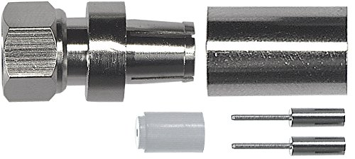 Axing CFS 7-00 - Conector coaxial (Tipo F, F, Macho, Metálico, Metal - Best Price
