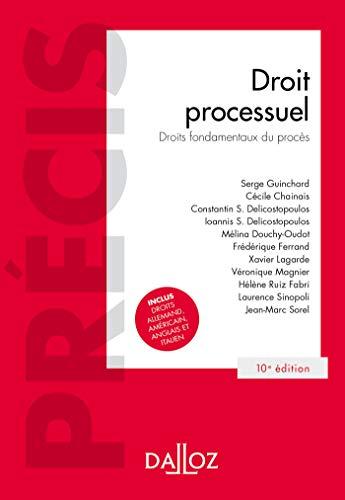 Droit processuel. Droits fondamentaux du procès - 10e éd. par Serge Guinchard