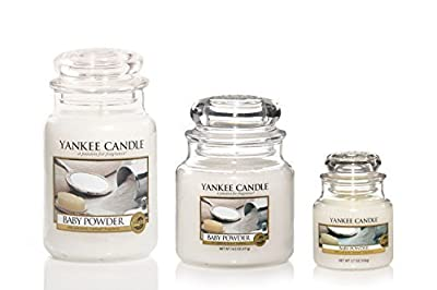 Yankee Candle Baby Powder Jar Candle - low-cost UK light store.