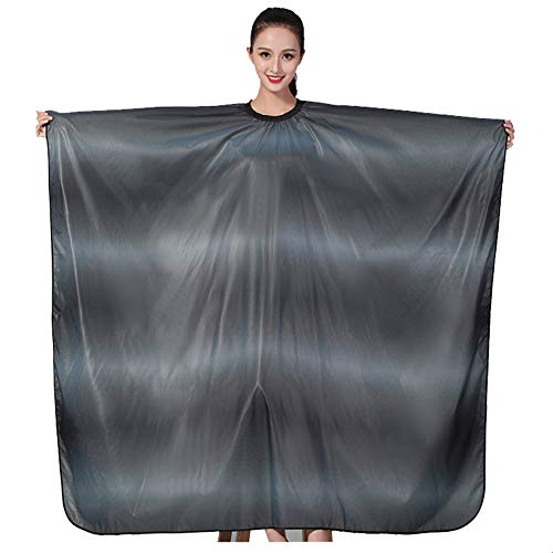 RTCAPE Gradient Large verdicken Friseursalon Schürze Haartuch für -
