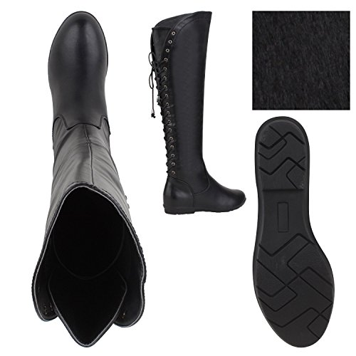 Stiefelparadies - Stivali Donna Nero (nero)