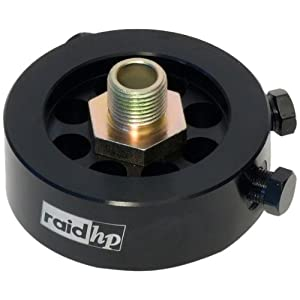 Raid HP 660408 - Adattatore per filtro dell'olio, 7,5/10 cm, UNF 16