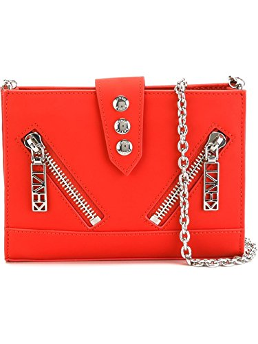 kenzo-womens-f662sa109l2519-red-leather-shoulder-bag