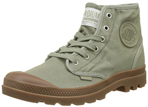 Palladium US Pampa High H, Baskets Hautes Hommes, Vert (Vetiver/Mid Gum K89), 42 EU