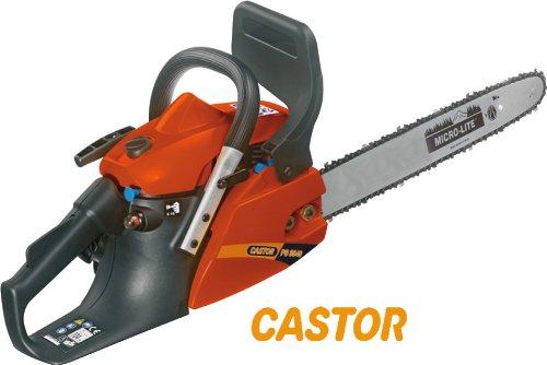 Motosega Castor CP 3740 Potenza 1,2 KW antivibrante con freno a catena
