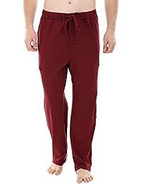 Zobello Wine Red Knit Brushed Pyjamas