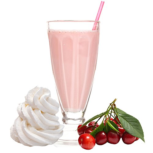 Amarena Sahne Kirsch Geschmack Proteinpulver Vegan mit 90% reinem Protein Eiweiß L-Carnitin angereichert für Proteinshakes Eiweißshakes Aspartamfrei (1 kg)