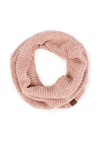 DESIRES Poll Damen Loop Schal, Größe:ONE SIZE, Farbe:Powder Rose Mel (5178M)