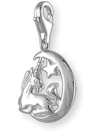 Melina Damen-Charm Anhänger Einhorn 925 Sterling Silber 1800880