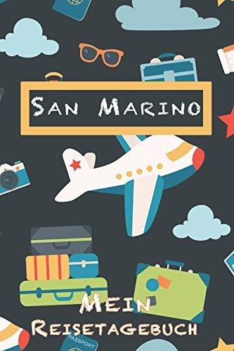 San Marino Mein Reisetagebuch: 6x9 Kinder Reise Journal I Notizbuch zum Ausfüllen und Malen I Perfektes Geschenk für Kinder für den Trip nach San Marino