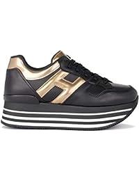 Herrenschuhe Sneaker Hogan H365 In Leder Schwarz Und Schafffell Um Jeden Preis Sneaker