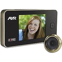 AYR EXITEC 752, Mirilla digital de puerta (125 x 68 x 15 mm)